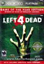 VALVE GAMES Microsoft XBOX 360 Game LEFT 4 DEAD GAME OF THE YEAR EDITION